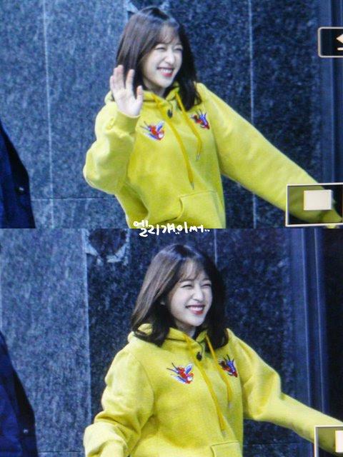 enter-talk] HANI ON HER WAY TO SHOOT 'KNOWING BROS' ~ PANN좋아!