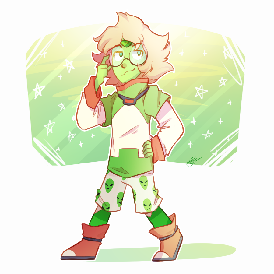 I apologize for being curious but green nerds and space