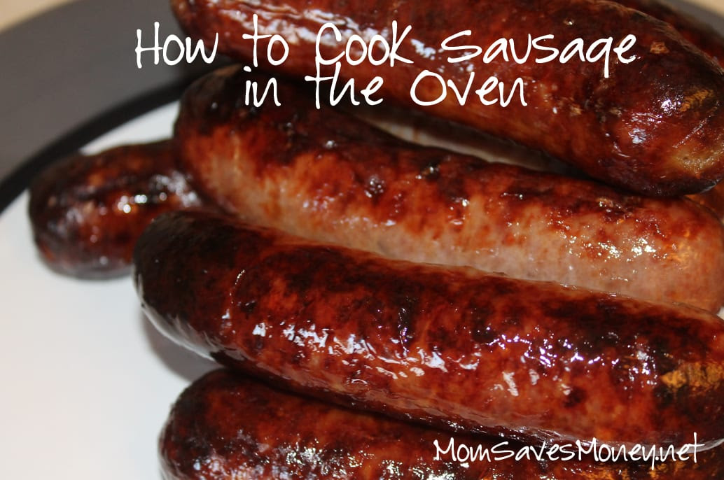 Recipe - Oven Sausages! Meal Plan Ideas for This Week's ...