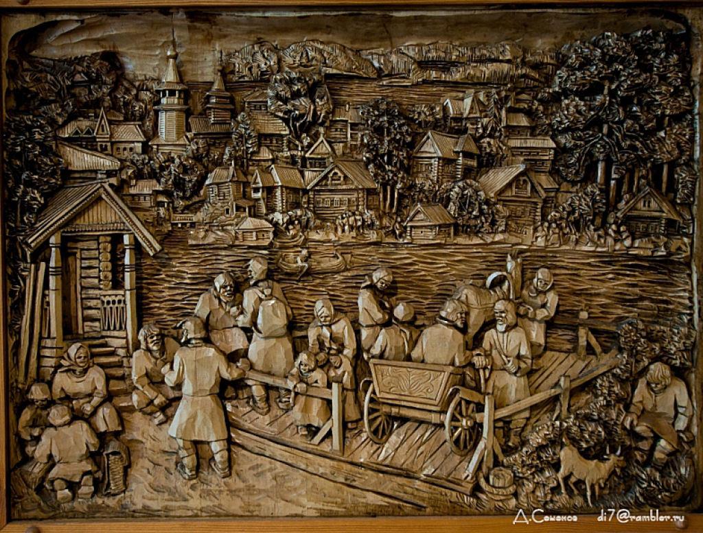As incríveis pinturas esculpidas de Kronid Gogolev 06