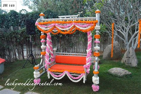 Jhoola Decorations   On Rent   Lucky Wedding Rental