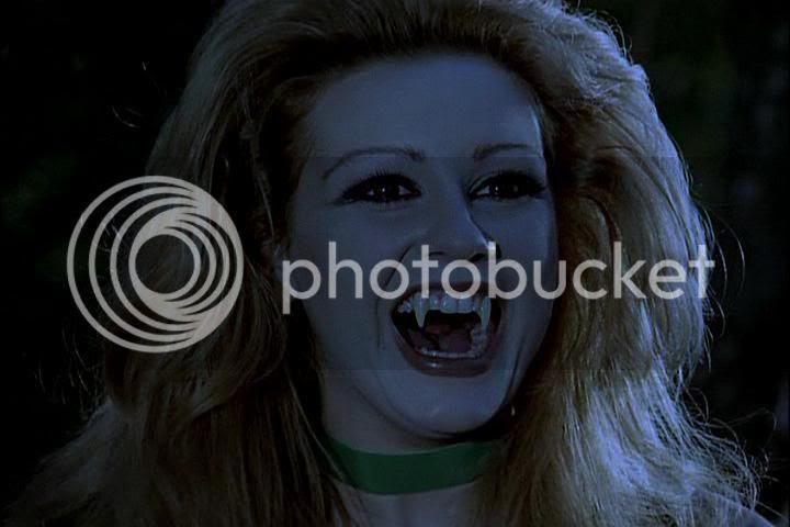 Liz is a vampire