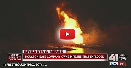Standing Rock Water Protectors Vindicated as Another Pipeline Just Exploded