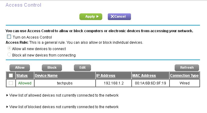 How do block access to my network on my Nighthawk router ...