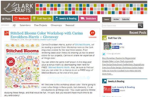 Lark Colour Workshop