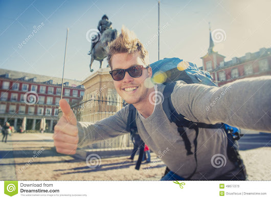 Selfie Stock Photos, Royalty-Free Images | CartoonDealer.com