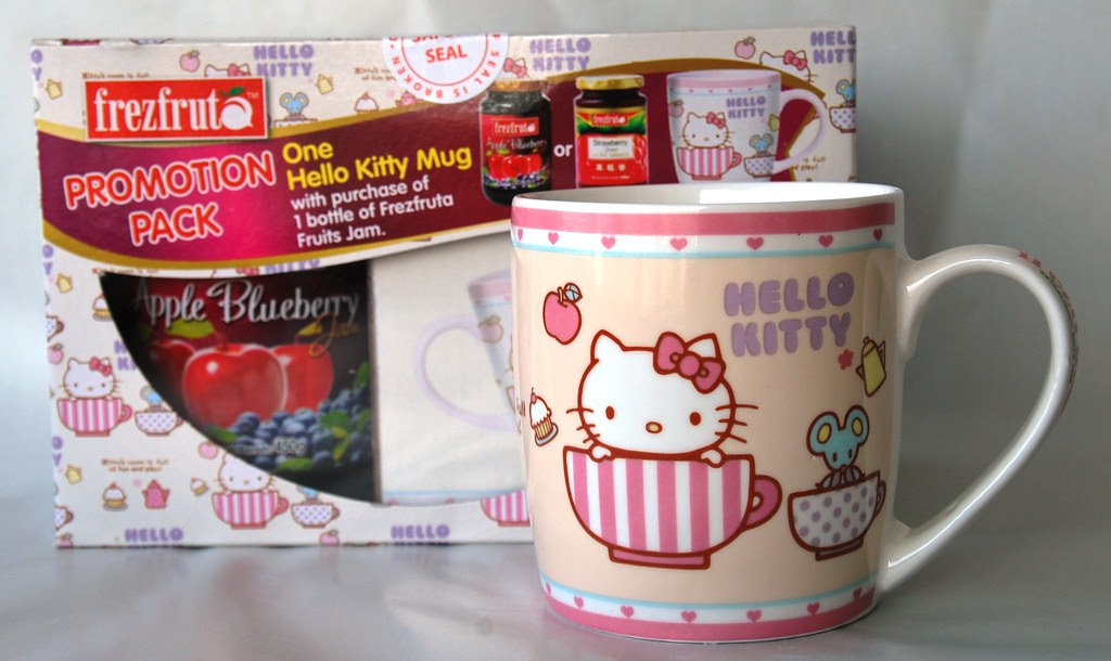 Hello Kitty Cup w Apple Blueberry Jam