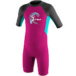2mm Girl's O'Neill REACTOR Shorty Springsuit