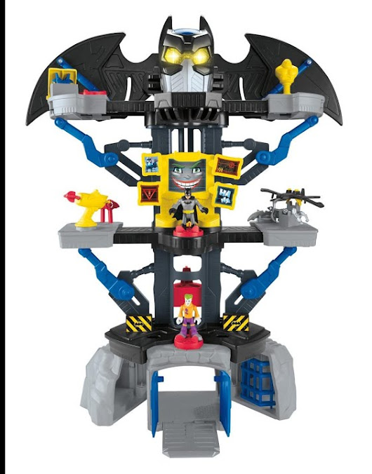 Fisher Price Imaginext DC Super Friends Transforming Batcave review