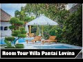 Room tour Villa Pantai Lotus Desa Dencarik Banjar Buleleng Bali