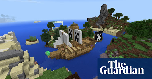 How Minecraft is helping kids fall in love with books | Books | The Guardian