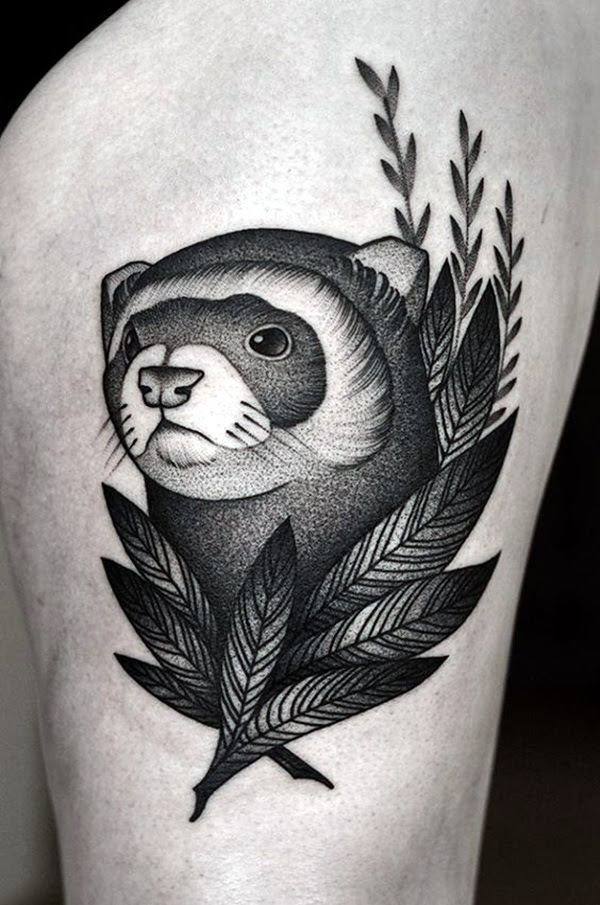 New and Trendy Dotwork Tattoo Ideas for 2016 (32)