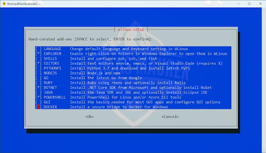 WLinux - The best WSL for Windows 10 - Thomas Maurer