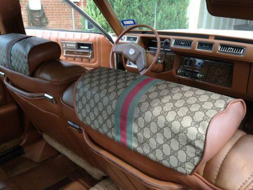 Buy used 1979 Cadillac Seville Gucci Edition Sedan 4-Door ...