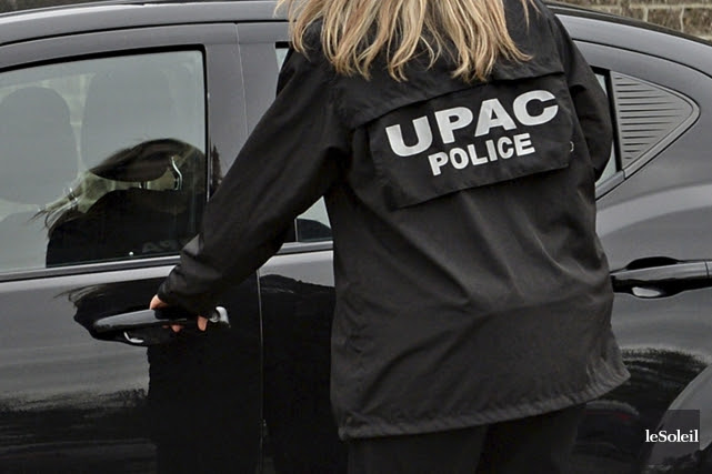 Le commissaire de l'UPAC, Robert Lafrenière, a remis aux élus la quasi-totalité... (Archives)