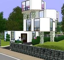 modern octagon house - Modern Home Exteriors