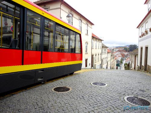 Viseu (25) Funicular - A descer [en] Viseu - Electric train