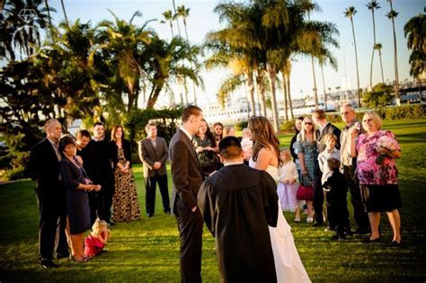 Pic Ideas: Outdoor San Diego Courthouse Wedding Ceremony