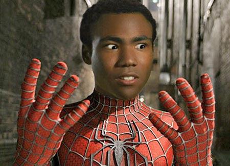donald glover hombre araña