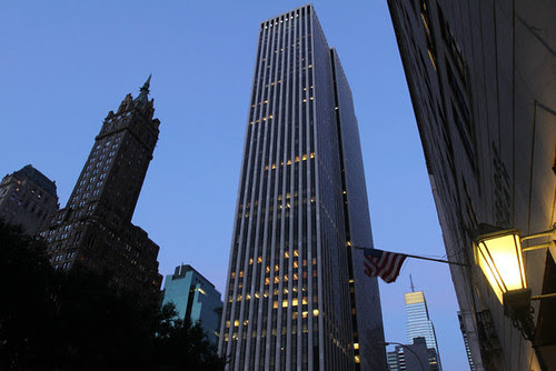The law firm of Weil, Gotshal & Manges headquarters in the New York General Motors building. The firm recently announced that it was laying large numbers of employees. by Pan-African News Wire File Photos
