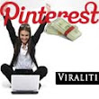 Earn money with Pinterest using Viraliti