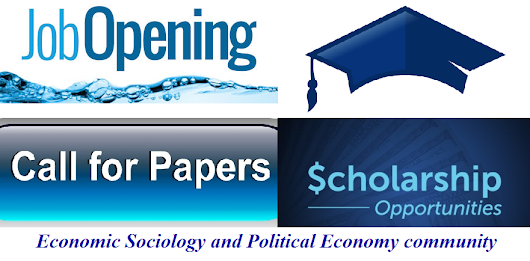 Great academic opportunities: 7 calls for papers, 3 jobs, 2 postdoc and visiting positions, PhD stipend