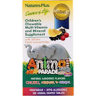Nature's Plus Children's Animal Parade Multi-Vitamin & Mineral Supplement Chewables, Tablets, Assorted - 180 count