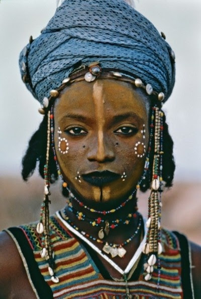 Wodaabe boy from Niger