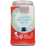 Prince & Spring Premium Laundry Detergent Packs - 81 Count Fresh Scent