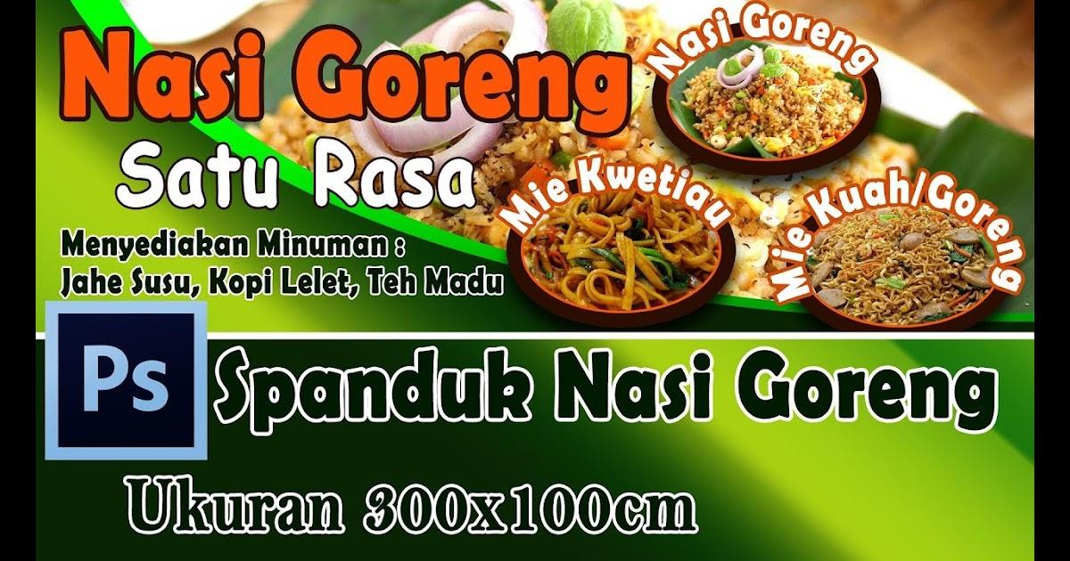 Desain Spanduk Warung Makan Cdr - gambar spanduk