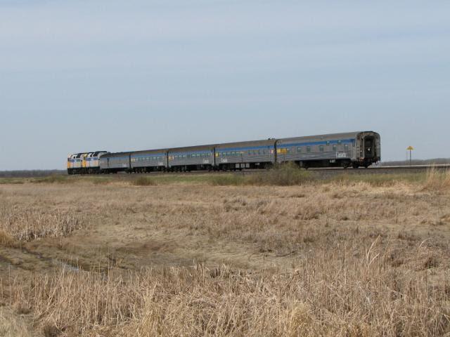 VIA's Hudson Bay train