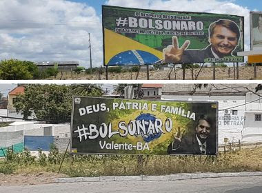 Vice-presidente do TSE, Luiz Fux libera outdoors de Bolsonaro na Bahia