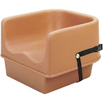 Cambro 100BCS157 Booster Seat, Single Height, Polyethylene, with Strap