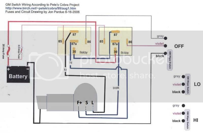 34 Universal Wiper Switch Wiring Diagram