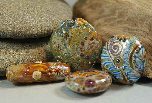 today's lampwork loot
