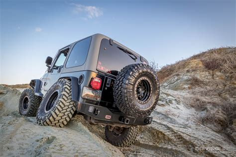 arb jeep wrangler rear bumper  tire carrier review
