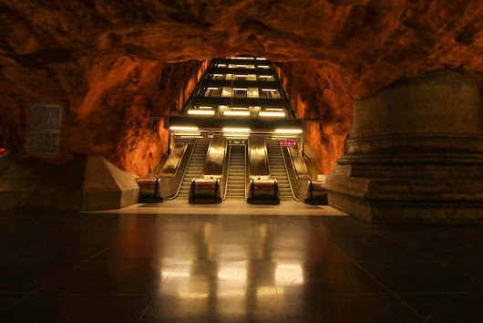 Stockholm's Metro System – A World of Art in the Undergrund - Barbaralicious