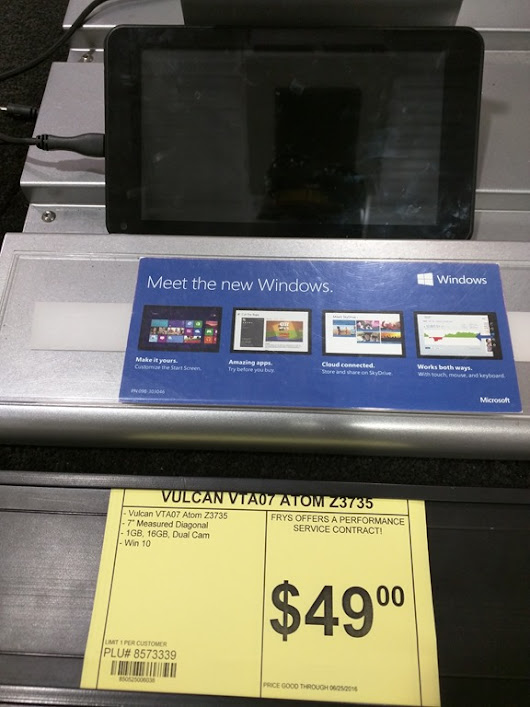 You can't reset a dirt-cheap Windows tablet