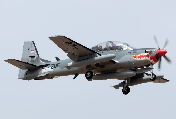 Super Tucano-EMB-314 Indonesia