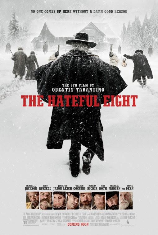 Resultado de imagem para the hateful eight movie poster