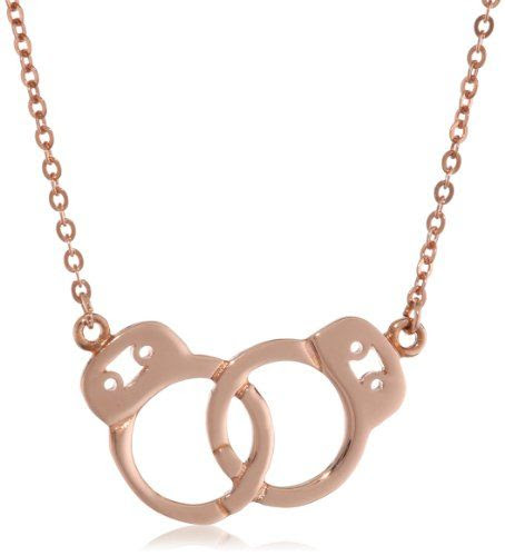 sweet handcuff necklace by Samantha Faye