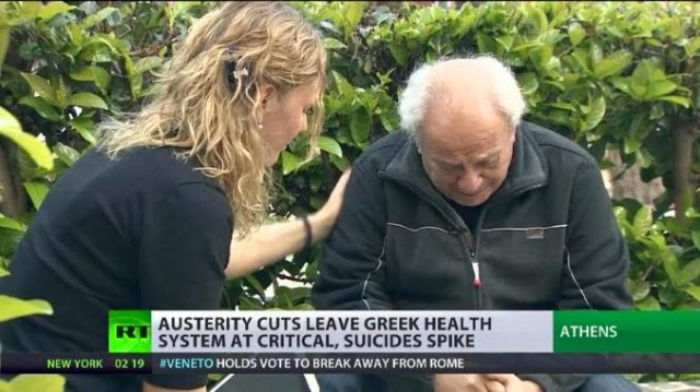 Συγκλονιστικό το Russia Today: Στην Ελλάδα οι άνθρωποι απλά δολοφονούνται