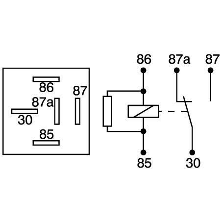 Wiring Manual PDF: 12v Relay Schematic