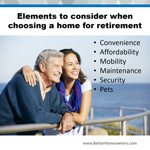 Considering a Home for Retirement
