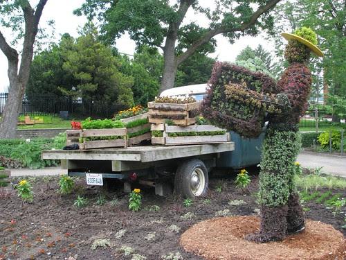 Mosaicultures 2013, Californie