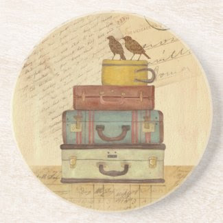 Ready To Fly Love Birds Coaster coaster