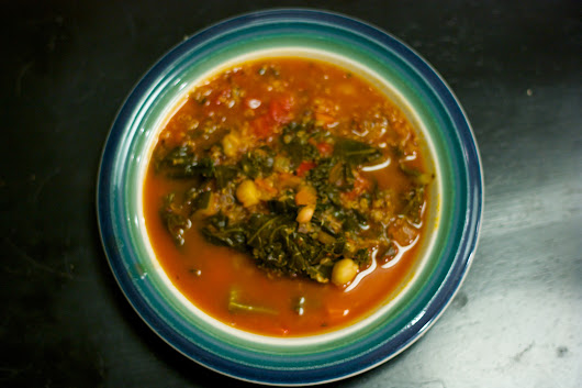 Meatless Monday: Kale-Quinoa Minestrone