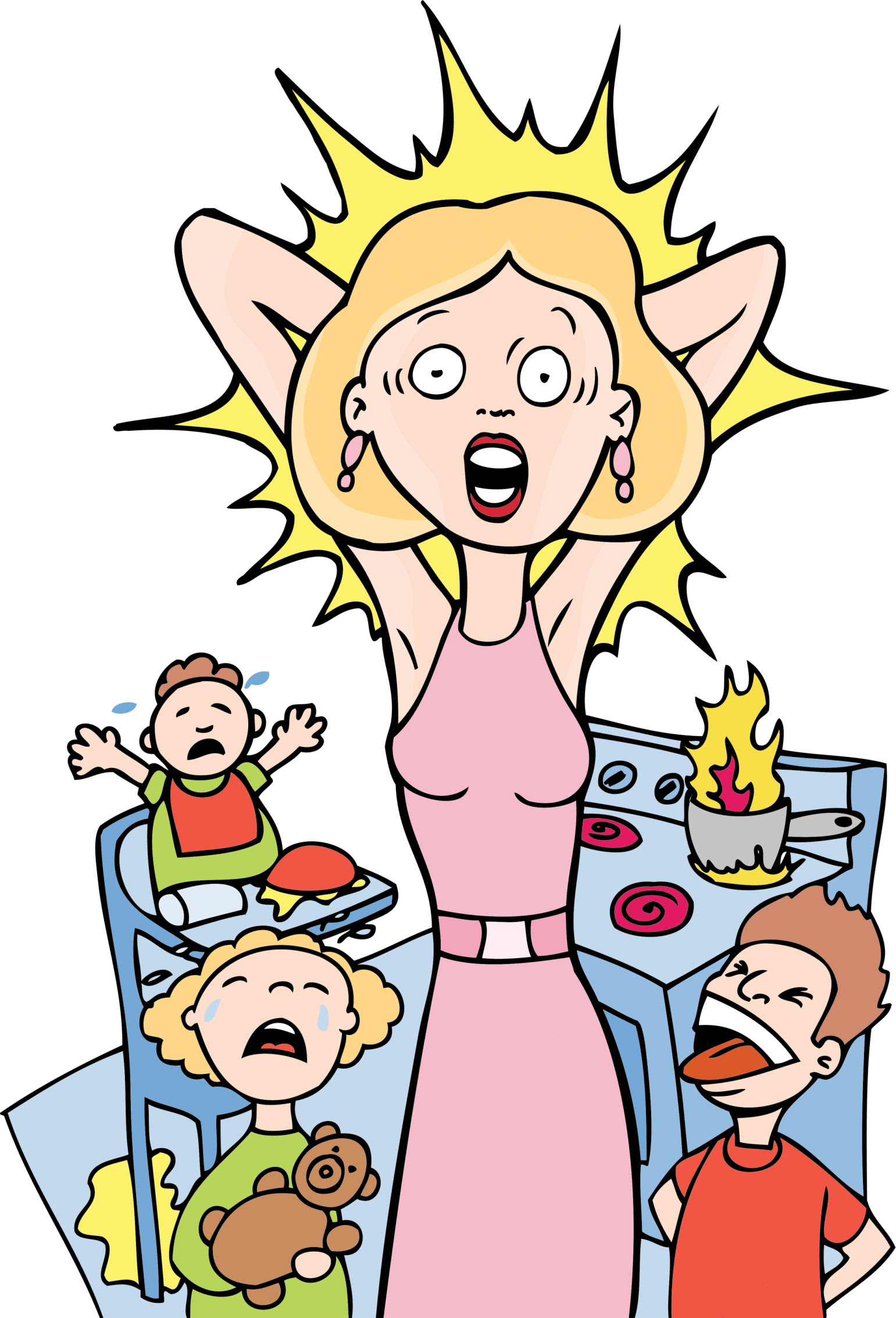 Cartoon Images Of Stress - Cliparts.co