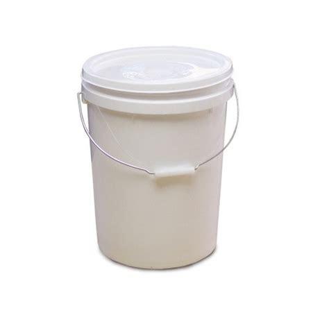 litre food grade plastic buckets  lids   pallet