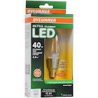 Sylvania 79520 LED 4.5w/40w B10C Fil27k